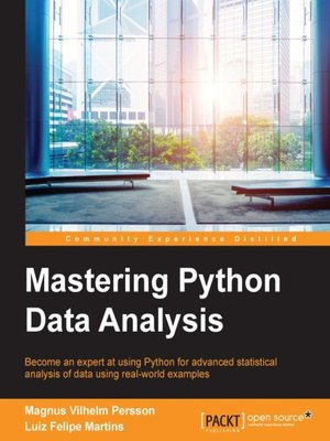 cover image of Mastering Python Data Analysis