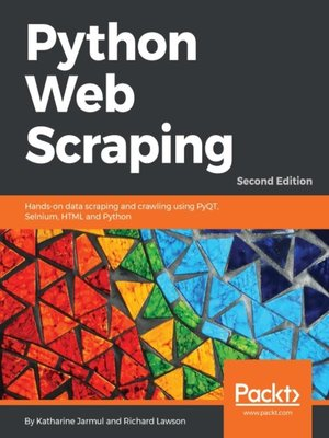 cover image of Python Web Scraping