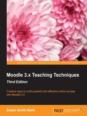 cover image of Moodle 3.x Teaching Techniques