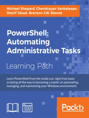 cover image of PowerShell: Automating Administrative Tasks
