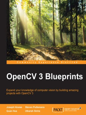 cover image of OpenCV 3 Blueprints