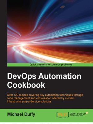 cover image of DevOps Automation Cookbook