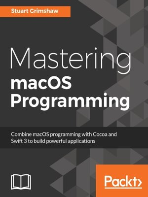 cover image of Mastering macOS Programming