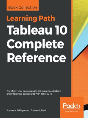 cover image of Tableau 10 Complete Reference