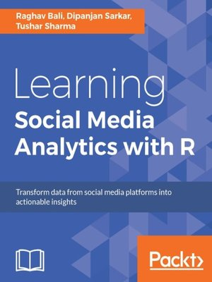 cover image of Learning Social Media Analytics with R