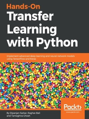 cover image of Hands-On Transfer Learning with Python