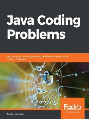 cover image of Java Coding Problems