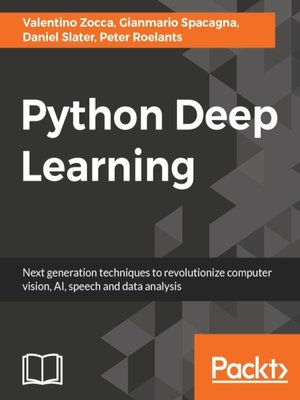 cover image of Python Deep Learning