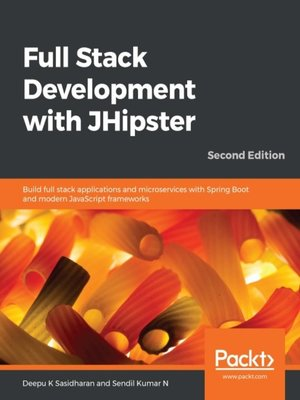 cover image of Full Stack Development with Jhipster
