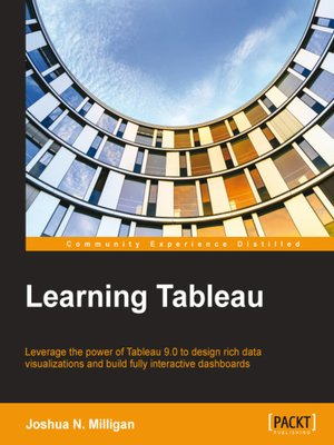cover image of Learning Tableau