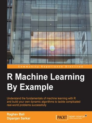 cover image of R Machine Learning By Example