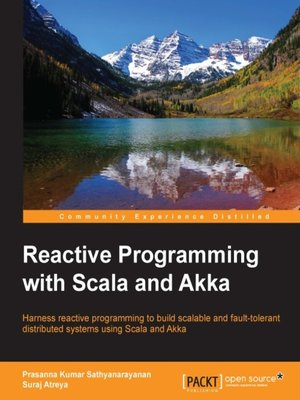 cover image of Reactive Programming with Scala and Akka
