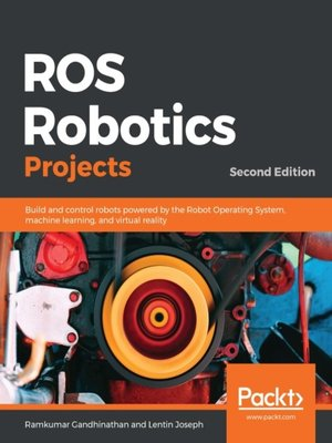 cover image of ROS Robotics Projects
