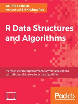 cover image of R Data Structures and Algorithms