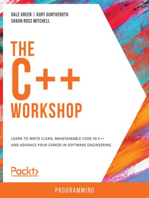 cover image of The C++ Workshop