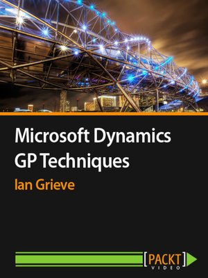 cover image of Microsoft Dynamics GP Techniques