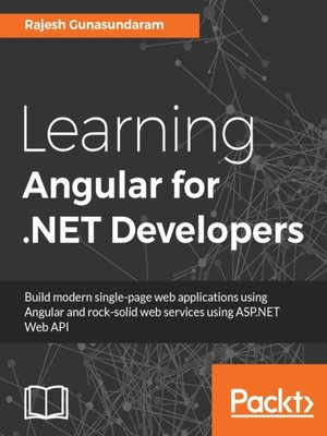 cover image of Learning Angular for .NET Developers