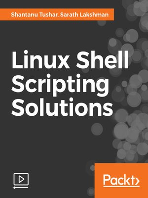 cover image of Linux Shell Scripting Solutions