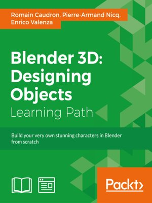 cover image of Blender 3D: Designing Objects