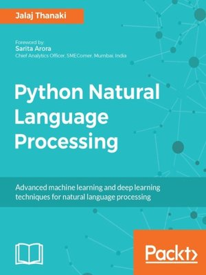 cover image of Python Natural Language Processing
