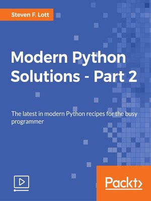cover image of Modern Python Solutions, Part 2