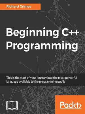 cover image of Beginning C++ Programming
