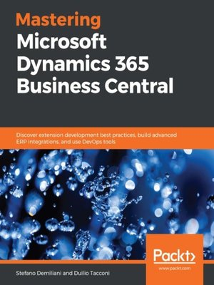 cover image of Mastering Microsoft Dynamics 365 Business Central
