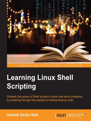 cover image of Learning Linux Shell Scripting