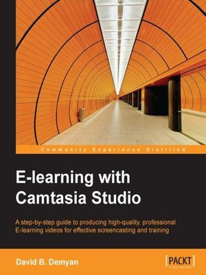 cover image of E-learning with Camtasia Studio