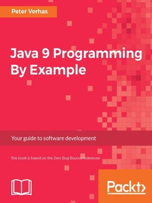 cover image of Java 9 Programming By Example