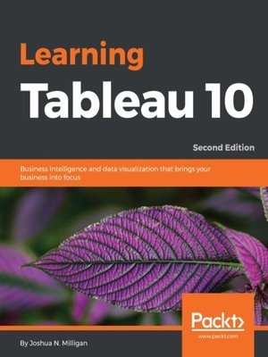 cover image of Learning Tableau 10