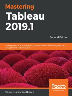 cover image of Mastering Tableau 2019.1