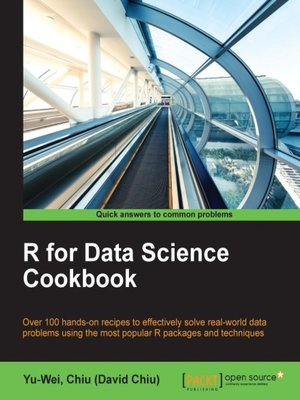 cover image of R for Data Science Cookbook