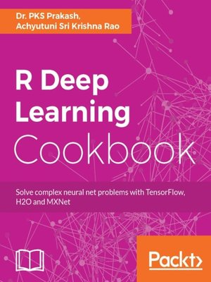 cover image of R Deep Learning Cookbook