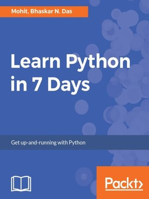 cover image of Learn Python in 7 Days