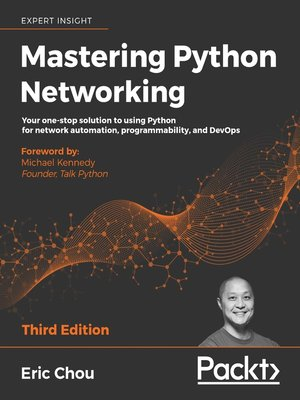 cover image of Mastering Python Networking