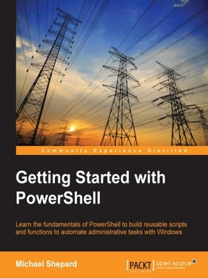 cover image of Getting Started with PowerShell