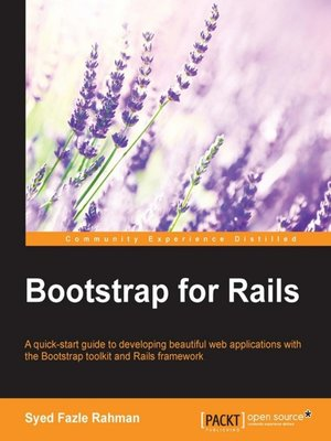 cover image of Bootstrap for Rails