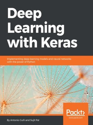 cover image of Deep Learning with Keras