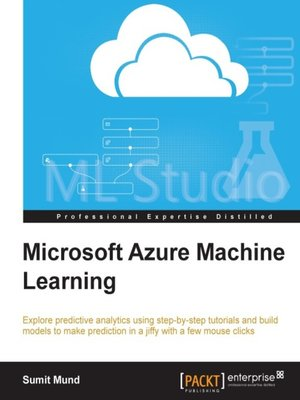 cover image of Microsoft Azure Machine Learning