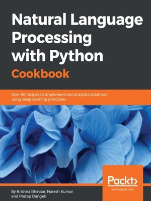 cover image of Natural Language Processing with Python Cookbook