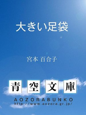cover image of 大きい足袋