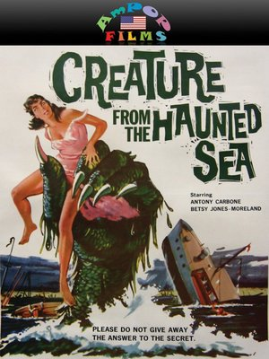 cover image of Creature from the Haunted Sea