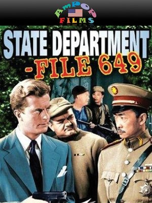 cover image of State Dept File 649