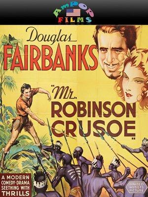 cover image of Mr. Robinson Crusoe