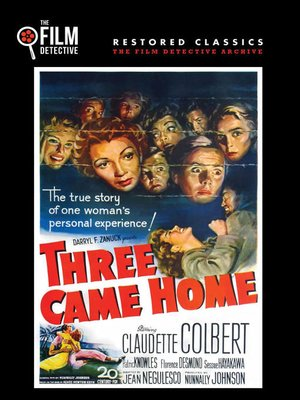 cover image of Three Came Home