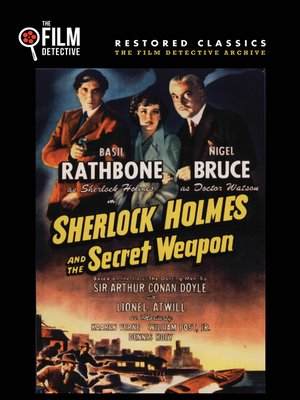 cover image of Sherlock Holmes and the Secret Weapon