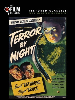 cover image of Sherlock Holmes - Terror by Night
