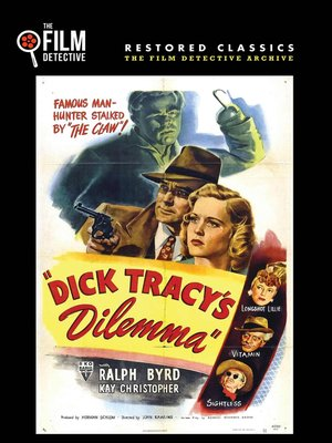 cover image of Dick Tracy's Dilemma
