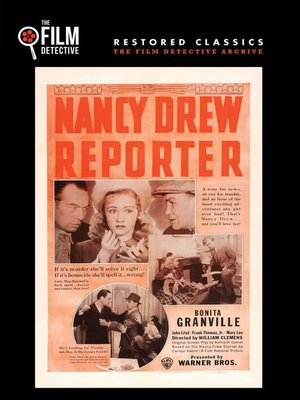 cover image of Nancy Drew Reporter